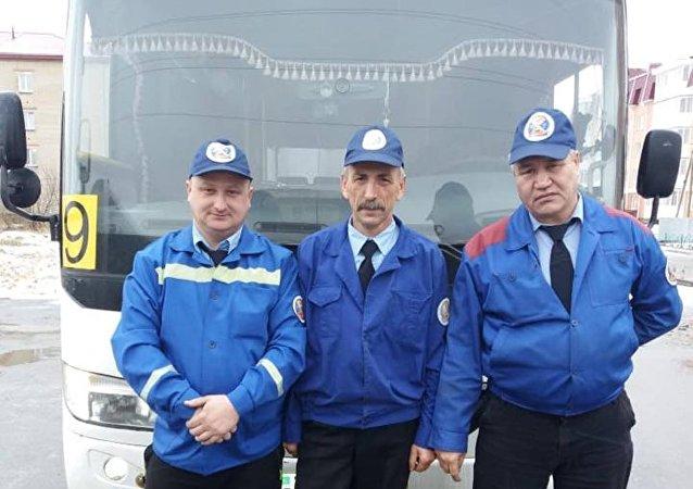 Водителей автобусов и маршруток одели в парадную форму в Петропавловске