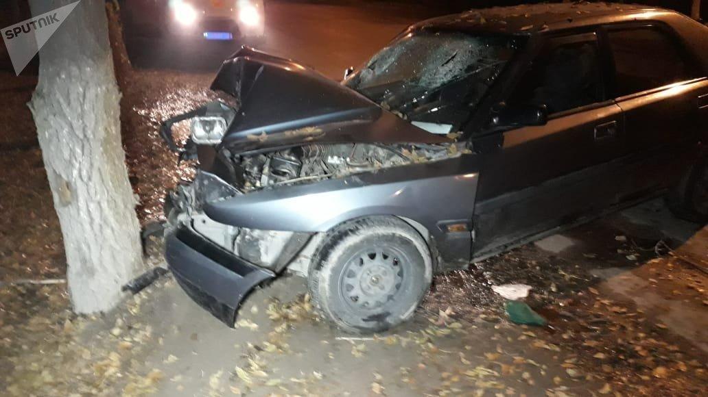 В результате ДТП пострадали четыре человека