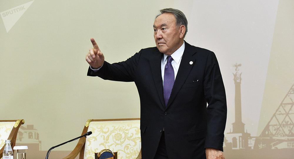 Нурсултан Назарбаев на пресс-конференции по итогам саммита ОДКБ