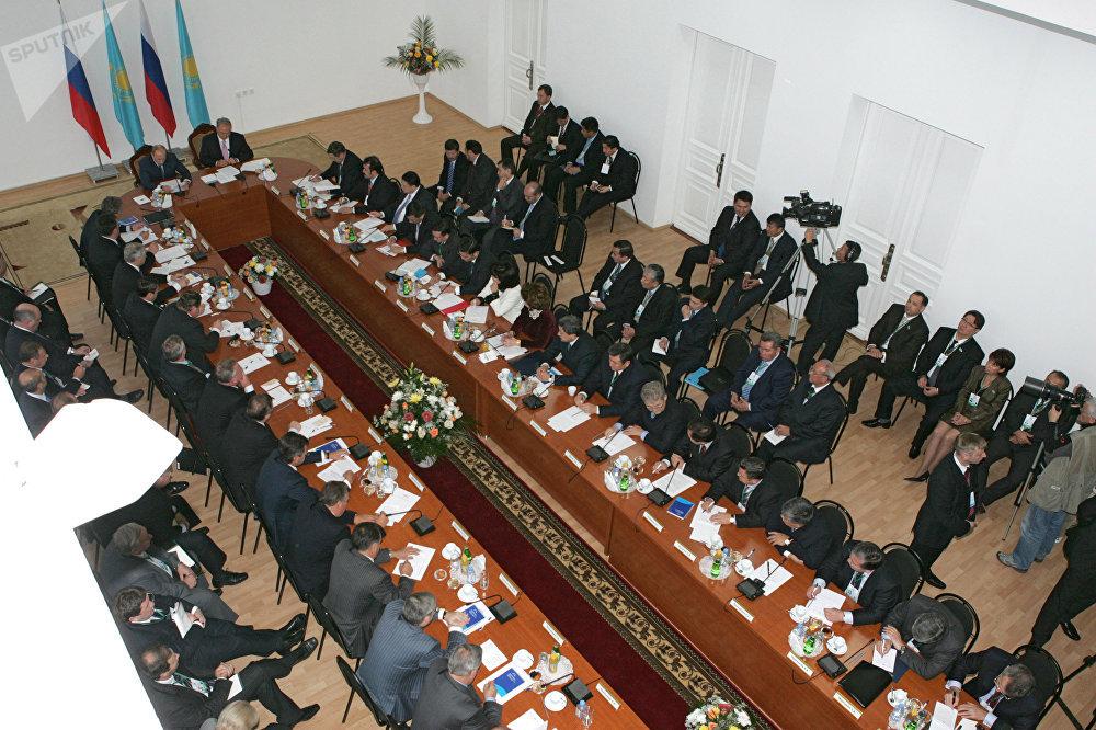 Рабочий визит президента РФ в Казахстан