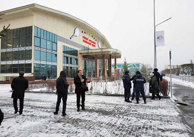 Теннисный центр в Петропавловске