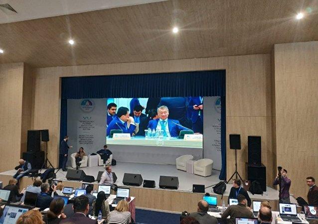 Видеотрансляция в пресс-центре форуме межрегионального сотрудничества