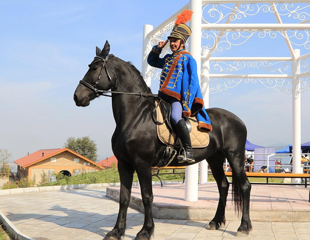 Конное шоу Kaz Equi 2016 в Алматы