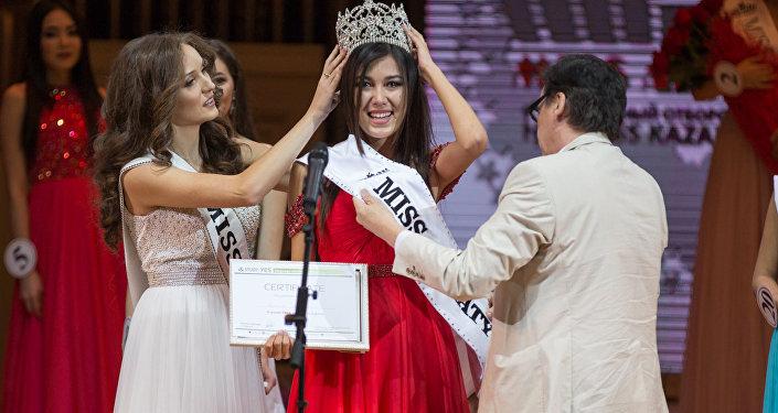 Конкурс красоты Мисс Алматы-2016