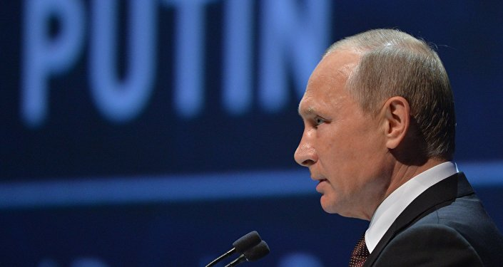 Архивное фото Владимира Путина
