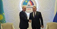 Қазақстан президенті Нұрсұлтан Назарбаев пен Ресей президенті Владимир Путин