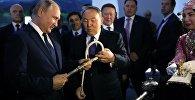Назарбаев Назарбаев пен Владимир Путин