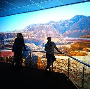 Почти настоящий Чарынский каньон – здесь можно не только увидеть величественную панораму, но и насладиться звуками природы этой местности