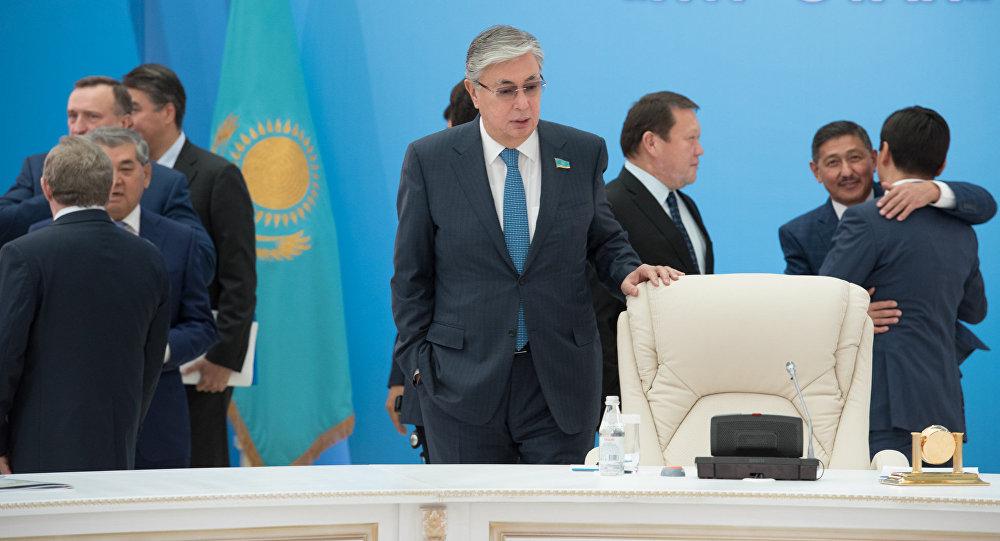 Расширенное заседание политсовета партии Нур Отан