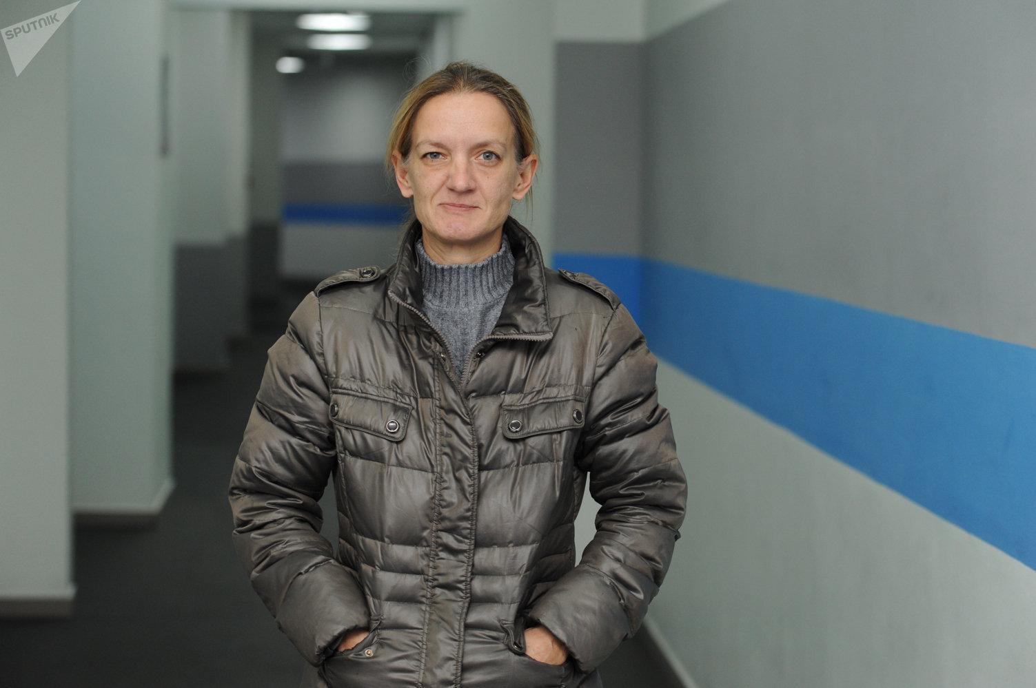 Мастер спорта международного класса и тренер Олеся Фомина