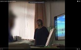 Учительница довела ученицу до слез из-за дырки на кофте - видео