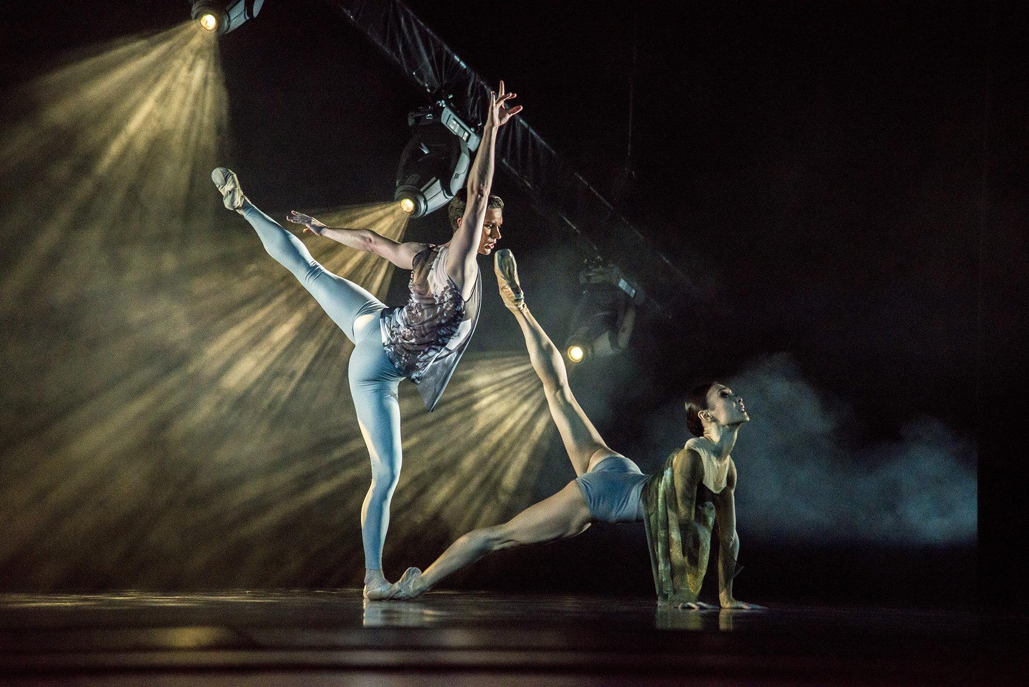 Премьера одноактного неоклассического балета Утерянные кумиры любви