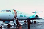 Самолет компании Bek Air