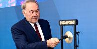 Назарбаев запустил торги на бирже финцентра в Астане
