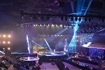 Как Минск-Арена готовится к детскому Евровидению