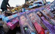Уничтожение контрафактных игрушек в Калининградской области
