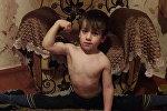 Пятилетний мальчик отжался 4105 раз за 146 минут