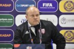 Главный тренер национальной сборной Латвии Миксу Паателайнен