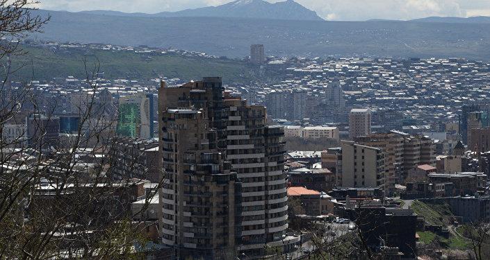 Архивное фото Еревана