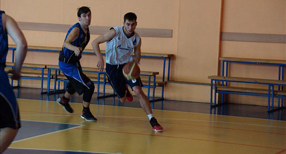 Соққыға жығылған баскетболшы Игорь Нанаев