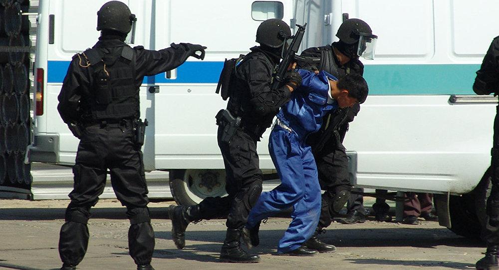 Архивное фото бойцов спецназа КНБ РК
