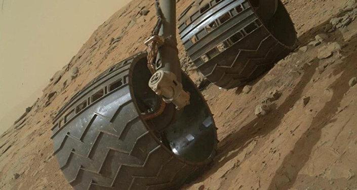 Архивное фто марсохода Curiosity