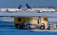 Самолет Эйр Астана в аэропорту