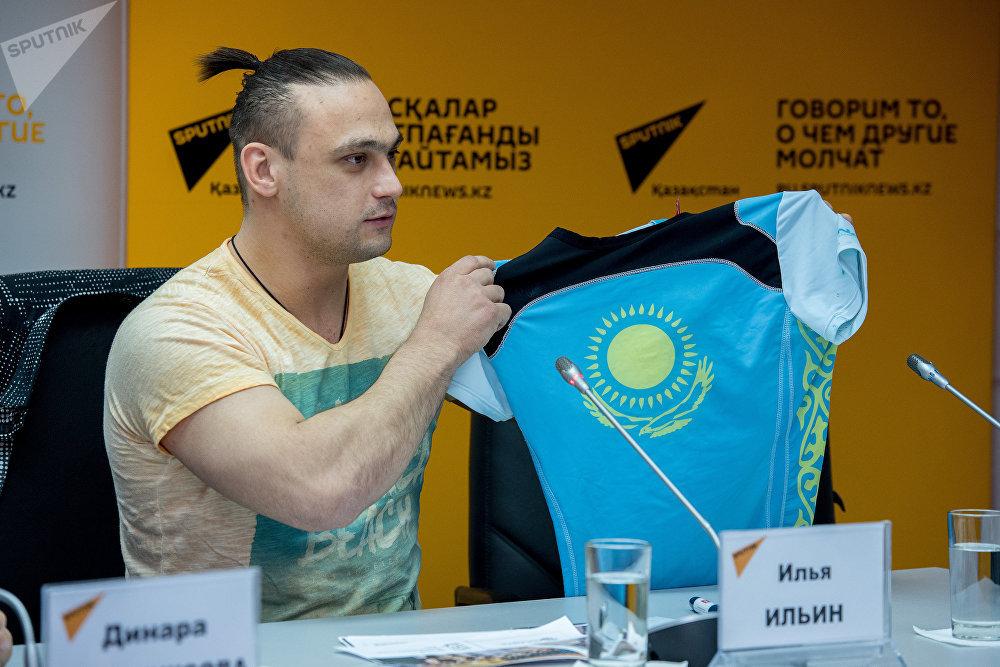 Пресс-конференция в студии Sputnik с участием Ильи Ильина