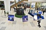 Выставка уникальных фотографий с Международной космической станции открылась в Астане