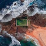 Снимок Ocean Pool фотографа Chandra Bong, вошедший в ТОП-50 категории Amateur Built Environment конкурса the EPSON International Pano Awards 2018