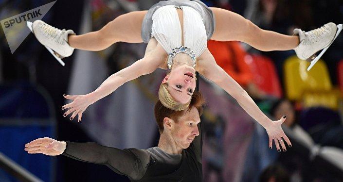 Евгения Тарасова и Владимир Морозов (Россия). V этап Гран-при