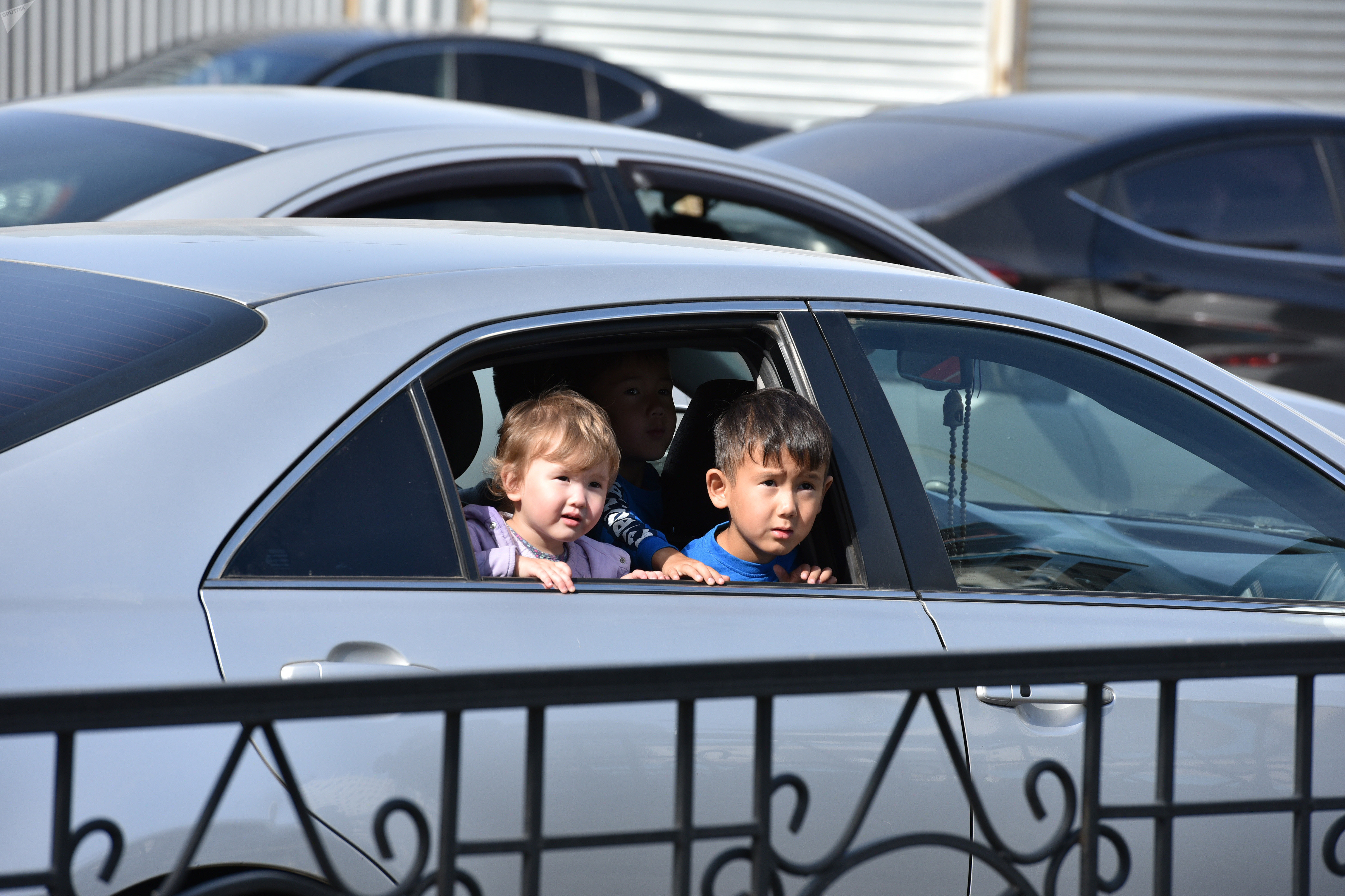Дети в автомобиле