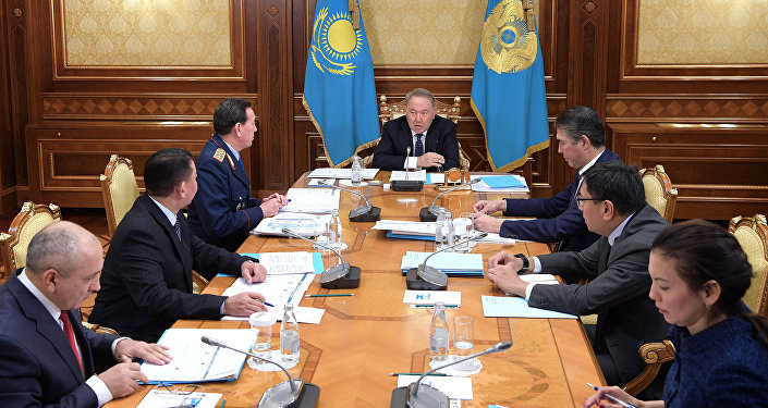 Совещание по вопросам модернизации деятельности органов внутренних дел под председательством Главы государства