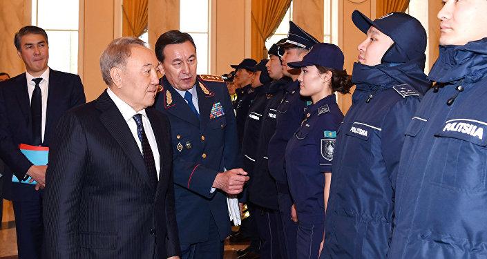 Глава государства поручил оптимизировать структуру и штаты органов внутренних дел, а также исключить несвойственные им функции