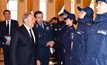 Презентация новой полицейской формы, архивное фото