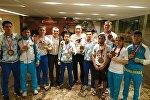 Бойцы национальной федерации ММА и панкратиона завоевали 9 медалей: 1 золотую, 1 серебряную и 7 бронзовых. Чемпионат мира по MMA прошел в Бахрейне