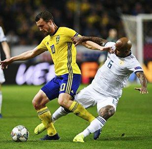 Футбол. Лига наций УЕФА. Матч Швеция - Россия