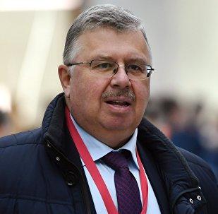 Генеральный секретарь Ассамблеи народов Евразии Андрей Бельянинов