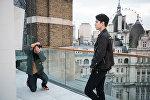 Британский фотограф Майкл Дональд провел для Димаша Кудайбергена фотосессию