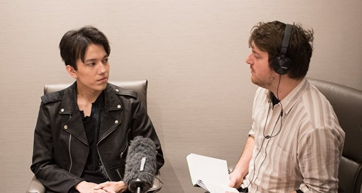 Димаш Кудайберген дал интервью в Лондоне