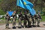 Военнослужащие вооруженных сил Казахстана, архивное фото