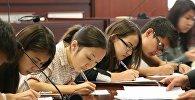 Назарбаев Университетінің студенттері