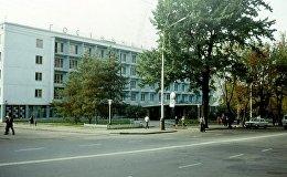Гостиница Жетысу Алма-Ата