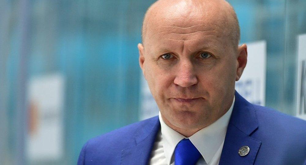 Барыс ХК бас бапкері Эдуард Занковец