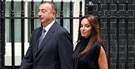 Президент Азербайджана Ильхам Алиев и его супруга Мехрибан Алиева