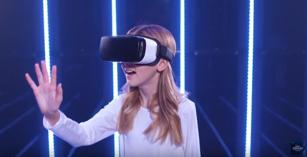 Скриншот официальной видеотрансляции Детского Евровидения