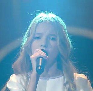 Выступление Данэлии Тулешовой на Детском Евровидении