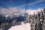 Канатная дорога над Японскими Альпами