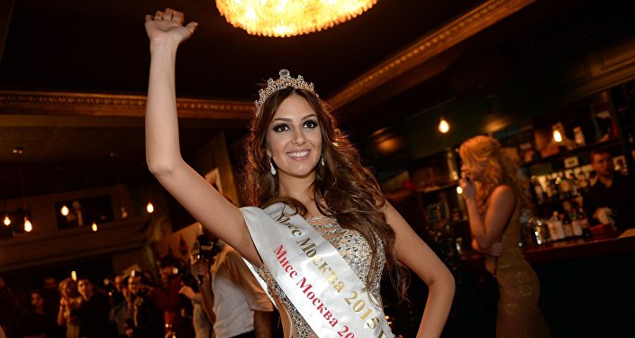Мисс Москва 2015 Оксана Воеводина, архивное фото
