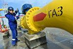 Запуск компрессорной станции на газопроводе Бейнеу-Бозой-Шымкент
